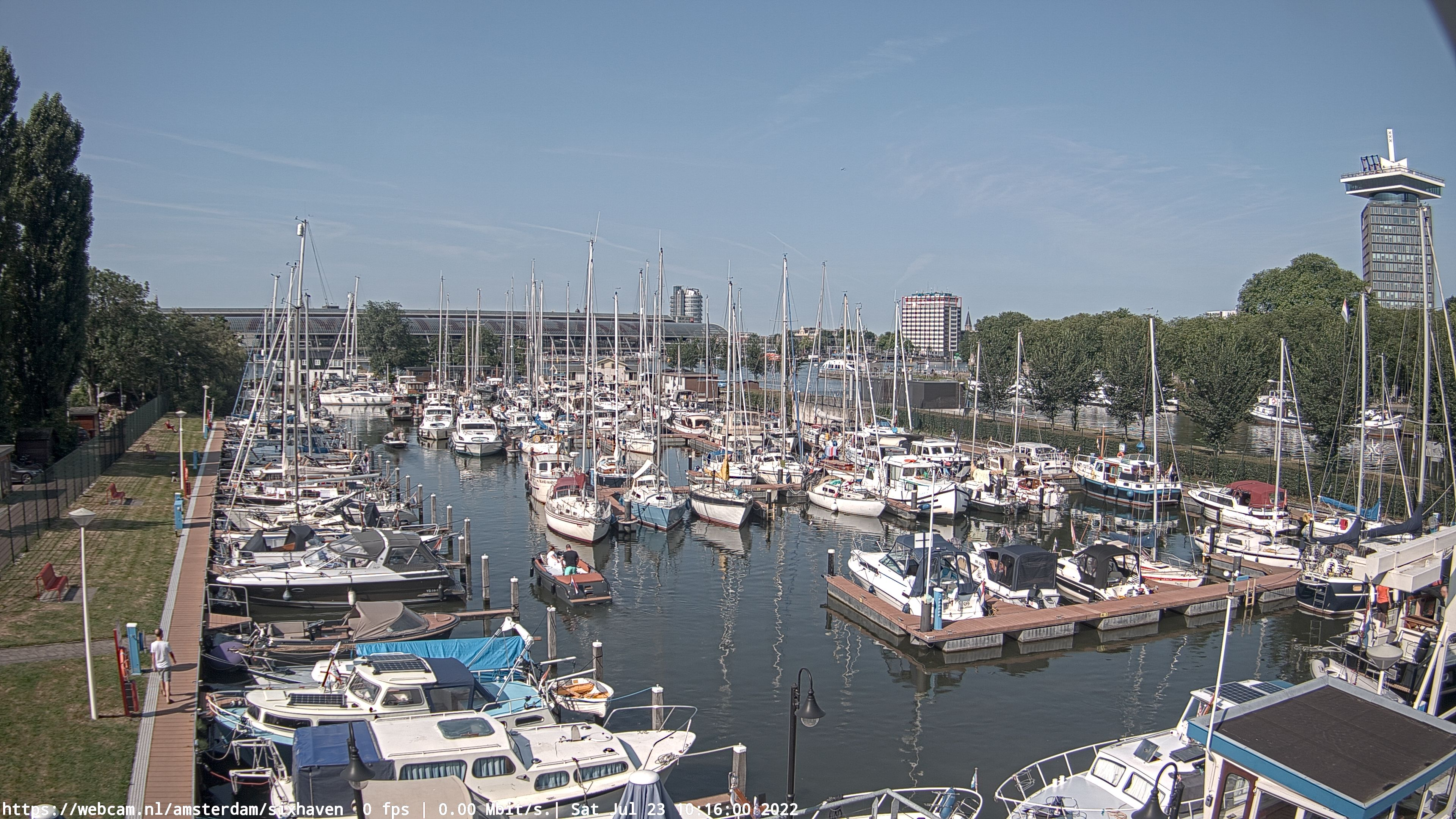 WebCam.NL | LIVE ultraHD 4K camera Sixhaven Amsterdam.