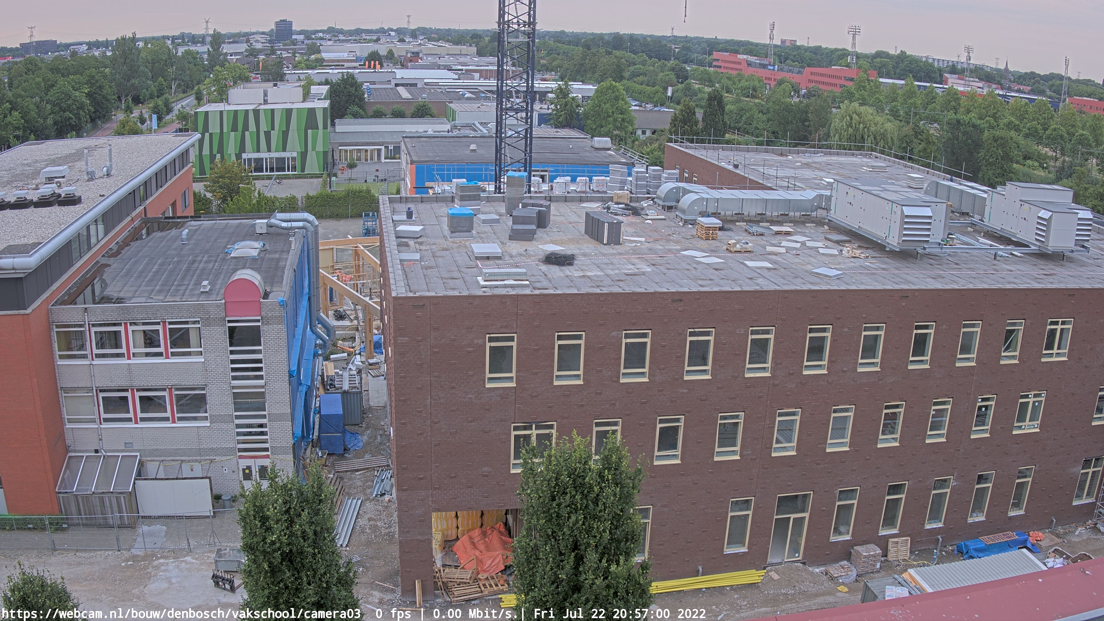 WebCam.NL | ultraHD 4K camera Den Bosch.