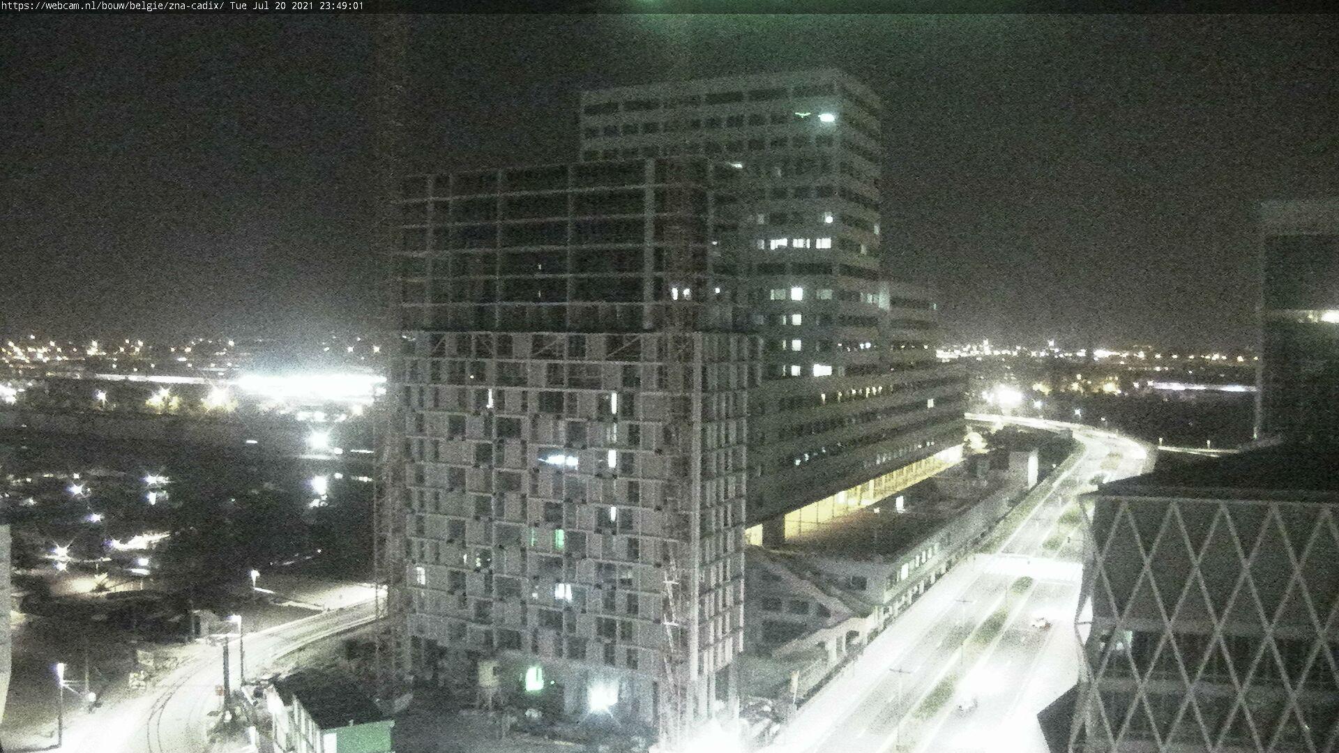 WebCam.NL | bouw ZNA Cadix, Antwerpen.